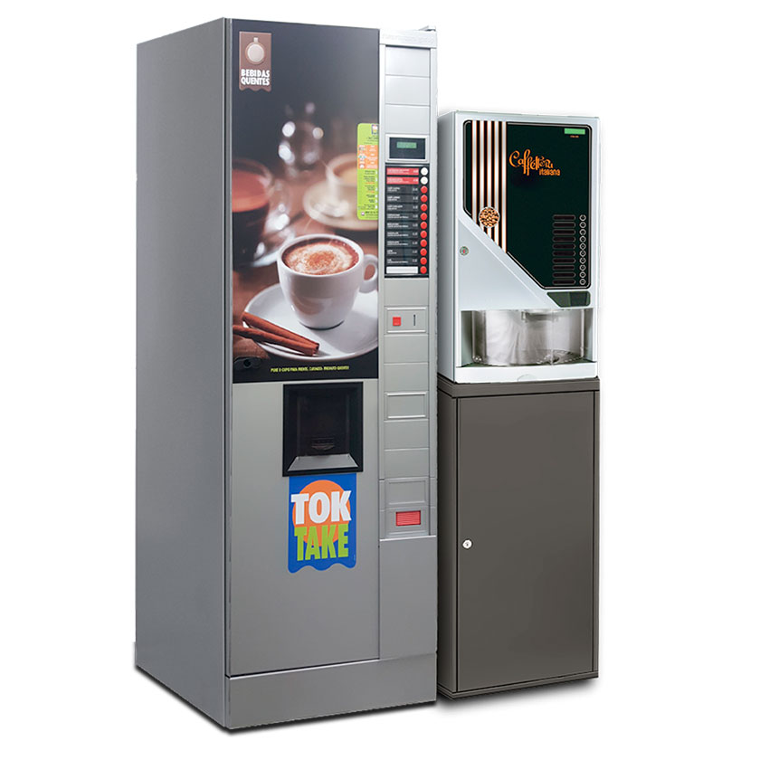 Vending machine café